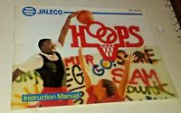 Hoops Basketball Instruction Manual Booklet Only NES Nintendo