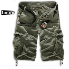 Mens Casual Military Combat Camo Cargo Army Shorts Pants Work Short Trousers New