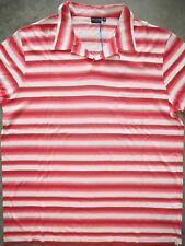 Polo PS Paul Smith rayas blanco/rojo talla M