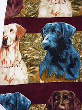 Labradors in the Field Stripes '98 RM Style Ralph Marlin Lab Dogs Tie