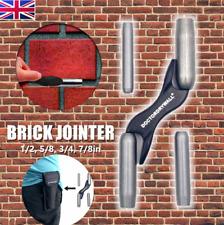 "Trowel Mortar 4 SIZE INTERCHANGEABLE BRICK BARREL JOINTER 1/2 5/8"" 3/4"" 7/8"" UK"