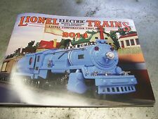 Mth Lionel Corp. Brand New 2014 Tinplate Color Catalog Standard & O Gauge Trains