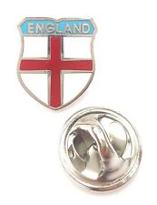 Small England Saint George Cross Quality enamel lapel pin badge T091J