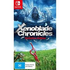 Xenoblade Chronicles Definitive Edition - Nintendo Switch - BRAND NEW