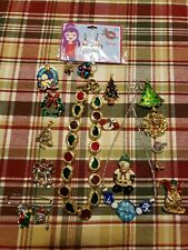 Christmas Mixed Jewelry Lot