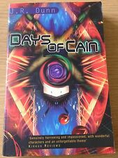 DAYS OF CAIN J R Dunn Book (Paperback)