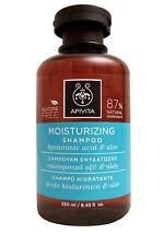 Apivita Moisturizing Shampoo Aloe & Hyaluronic Acid 8.45 OZ