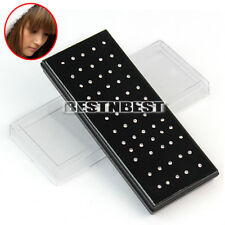 Wholesale 60pcs Body Jewelry Lots Nose Lip Bar Ring Studs Piercing Rhinestone