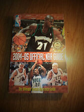 2004-2005 NBA SPORTING NEWS OFFICIAL NATIONAL BASKETBALL ASSOCIATION GUIDE
