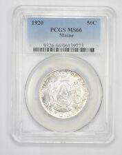 MS66 1920 Maine Commemorative Half Dollar - Graded PCGS *6147