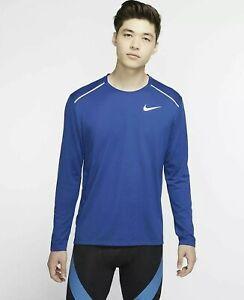 Nike Rise 365 Men's Long-Sleeve Running Top Blue As. L  (AQ9923-438)