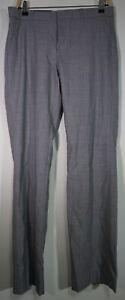 NWT Banana Republic Logan Light Wool MidRise Straight Trousers Sz 6 Dress Pants