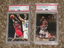 Michael Jordan 1992 + 1993 Topps Stadium Club Bundle 1992-93 1993-94 PSA 5 9 Lot