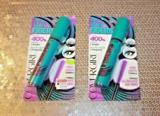 COVERGIRL THE SUPER SIZER FIBERS MASCARA #805 & #810 LOT OF 2 BOXED