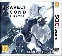 BRAVELY SECOND END LAYER 3DS TEXTOS EN CASTELLANO NUEVO PRECINTADO N3DS