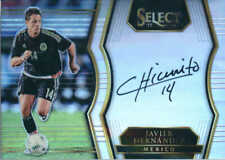 2017-18 Select Javier Hernandez Mexico Signatures Autograph