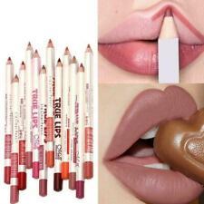 6pcs/set LongLasting Double-end Waterproof Pencils Liner Lip Matte Lipstick X0S1
