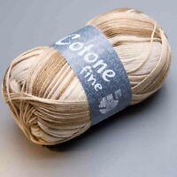 Lana Grossa Cotone Fine 808 print / 50g (5.90 EUR pro 100 g)