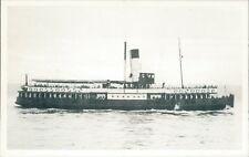 Postcard shipping Mersey ferry Francis Storey I Friends of the Ferries card
