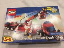 Sealed Lego Lego Fire Fighters Lift Truck 6478 Free Ship