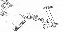Fiat Panda 141a Rear Suspension Trailing Arm