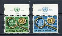 19136A) United Nations (New York) 1976 MNH Postal Admin Lab