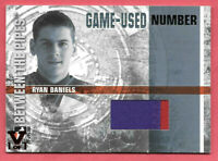 2015-16 Ryan Daniels ITG Final Vault 2006-07 Between the Pipes Number Patch 1/1
