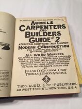 1947 Vo 2 Audels Carpenters And Builders Guide Book