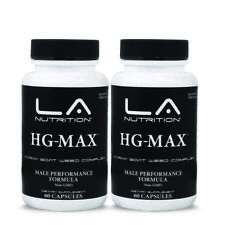 2X Horny Goat Weed 1560mg Capsules Maca Saw Palmetto Ginseng L-arginine 120 Caps