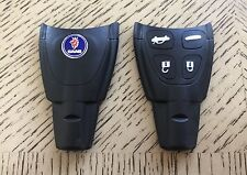 SAAB 9-3 Factory SOFT 4 Button Remote KEY Fob Shell Case Original QUALITY KIT
