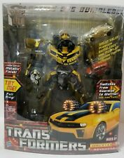 Transformers Leader Class Battle Ops Bumblebee Metallic Limited Edition +Extras!