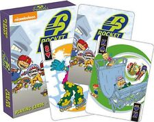 ROCKET POWER - PLAYING CARD DECK - 52 CARDS NEW - NICKELODEON TV 52497