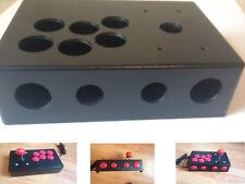 Fai DA TE Arcade Fight Stick per Raspberry Pi retropie MAME ecc. progetto di plastica