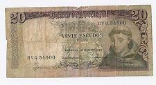 Portugal 20 escudos 1964