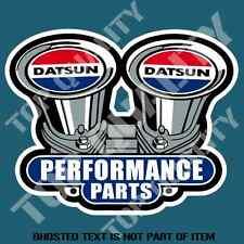 JDM DATSUN PERFORMANCE PARTS STICKER DECAL DRIFT ILLEST FATLACE STANCE STICKERS