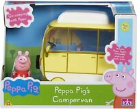 PEPPA / PEPPER PIG - Large Campervan Vehicle Figure Playset Toy NEW / Boxed