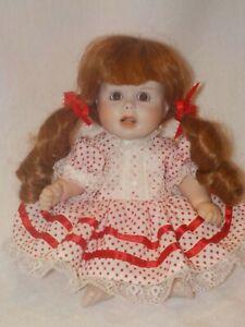 "Artist Made 9"" Porcelain/Cloth Doll"