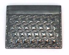 CHRISTIAN LOUBOUTIN Kios Embossed Metallic Leather Cardholder
