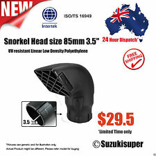 3.5 inch 85mm Snorkel Air Ram Head Safari Airflow Replacement