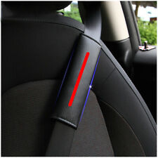 Red bar Reflective Sticker 2PC Car Auto Seat Belt Shoulder Covers Cushion Harnes