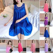 Women Ladies Sexy Lace Long Dress Sleepwear Robes Nightgown Night-wear Hot-sale