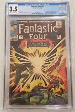 Fantastic Four #53 CGC 3.5 1st App Klaw 2nd App & Origin Black Panther MCU