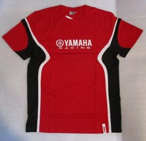 NEW Yamaha Racing T-Shirt Red Medium