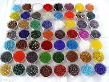 2000x 2mm Czech Glass Seed Round Spacer beads Jewelry Making