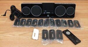 Genuine Logitech (S-00001) iPod Wireless Speaker Dock, Case & Power Supply!