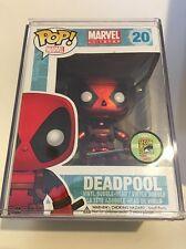 Funko Pop! Marvel Metallic Deadpool SDCC 2013 Exclusive 480pcs