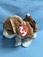Ty Beanie Babies Side-Kick Dog 8� Plush Stuffed Animal Toy 2002 ~ New