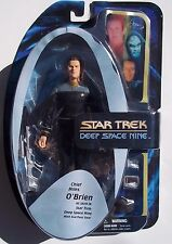 STAR TREK DEEP SPACE NINE CHIEF MILES O'BRIEN ACTION FIGURE. NOC. STARFLEET GEAR