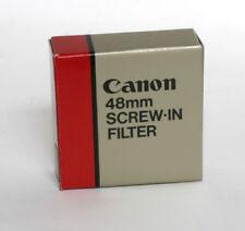 Filtros redondos Canon con rosca para cámaras