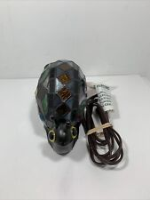 Stained Glass Handcrafted Snail Night Light Table Desk Lamp Tiffany Style